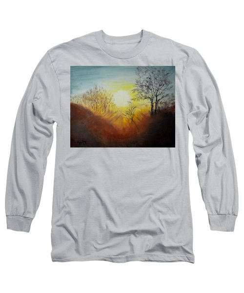 Out Of The Winter Morning Mists - 1 Long Sleeve T-Shirt