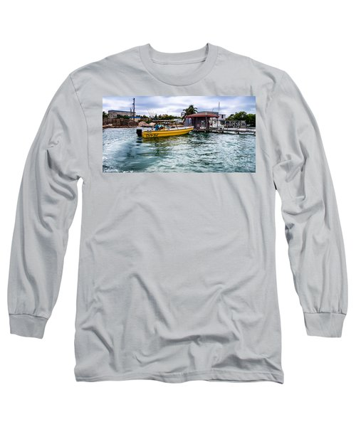 Long Sleeve T-Shirt featuring the photograph Out On Bail by Lawrence Burry