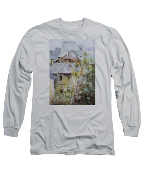 Over City Long Sleeve T-Shirt by Vali Irina Ciobanu