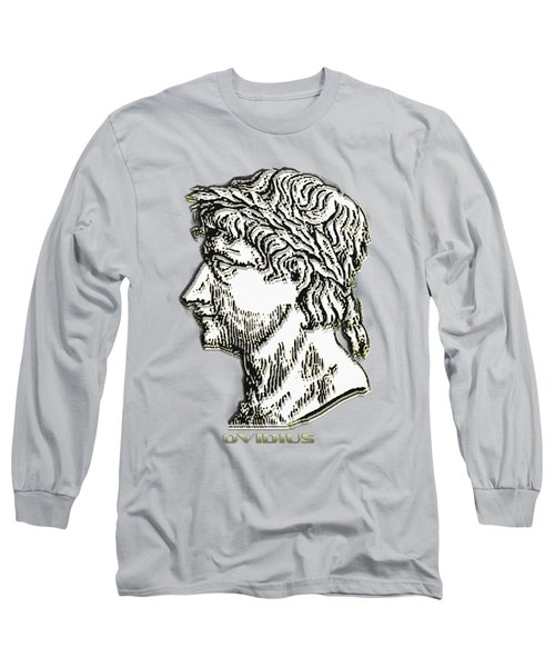 Ovid Long Sleeve T-Shirt by Asok Mukhopadhyay