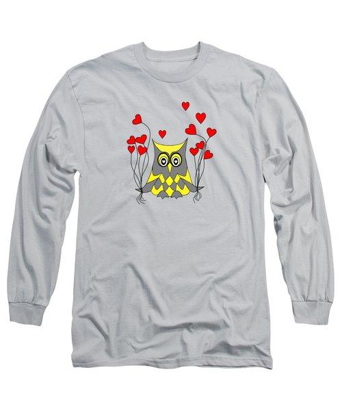 Owl Always Love You Long Sleeve T-Shirt by Kathleen Sartoris