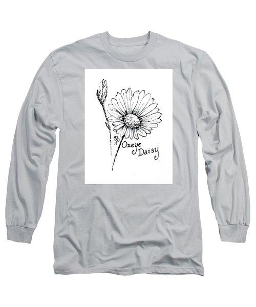 Oxeye Daisy Long Sleeve T-Shirt