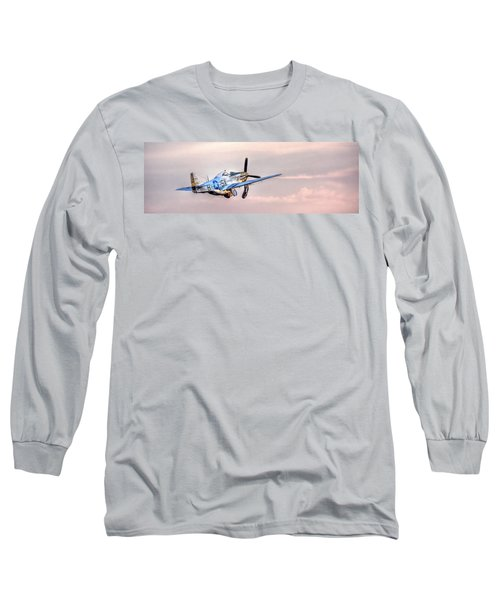 P-51 Mustang Taking Off Long Sleeve T-Shirt