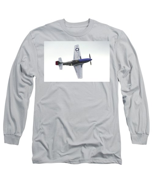 P-51 D Wing Over Long Sleeve T-Shirt