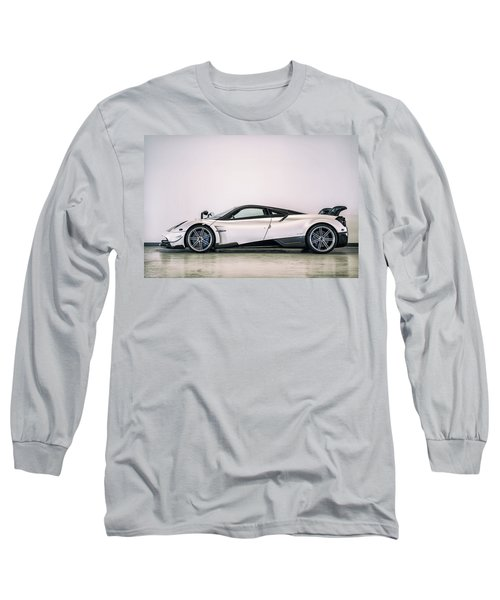 Long Sleeve T-Shirt featuring the photograph #pagani #huayra Bc by ItzKirb Photography