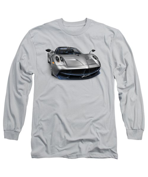 Pagani Huayra Exotic Sports Car Long Sleeve T-Shirt