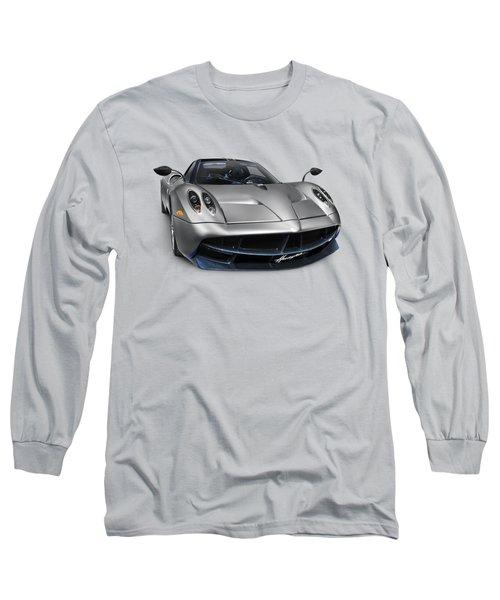 Pagani Huayra Exotic Sports Car Long Sleeve T-Shirt