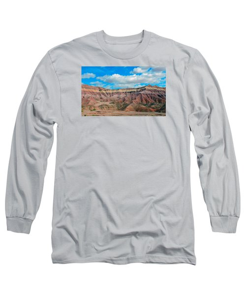 Painted Desert Long Sleeve T-Shirt by Charlotte Schafer