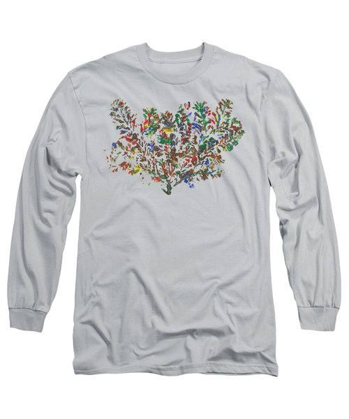 Painted Nature 2 Long Sleeve T-Shirt by Sami Tiainen