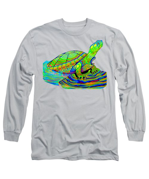 Painted Turtle Long Sleeve T-Shirt