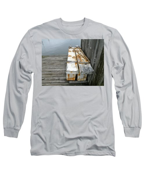 Long Sleeve T-Shirt featuring the photograph Paired Up by Anna Ruzsan