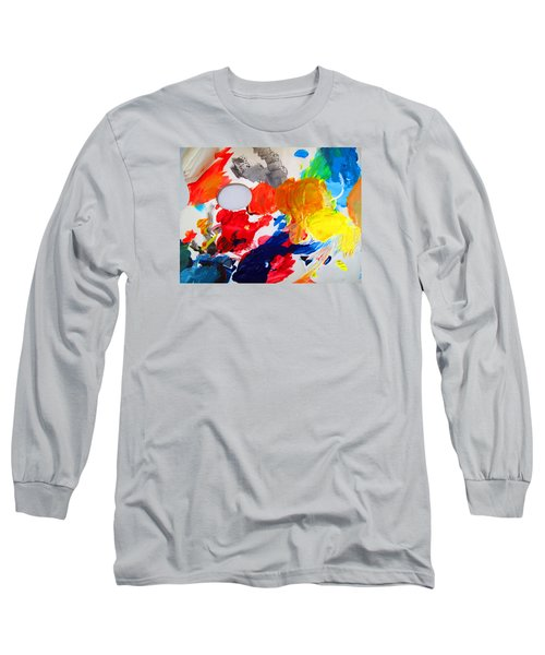Long Sleeve T-Shirt featuring the photograph Palette by Barbara McDevitt