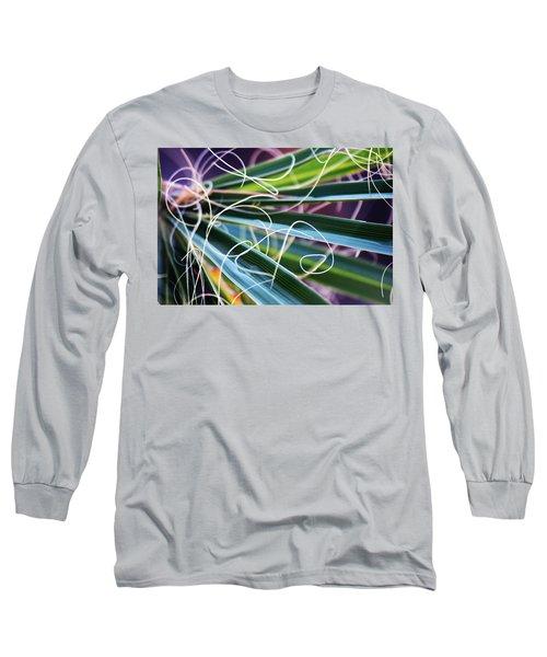 Palm Strings Long Sleeve T-Shirt by John Glass