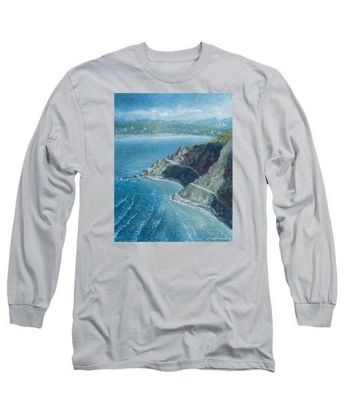 Palos Verdes Autumn Morning, No. 1 Long Sleeve T-Shirt by Douglas Castleman