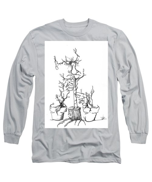 Pan's Fried Flute Long Sleeve T-Shirt