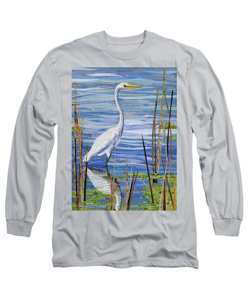 Paper Crane Long Sleeve T-Shirt by Shawna Rowe