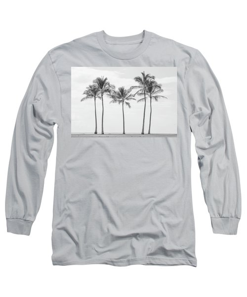 Paradise In Black And White II Long Sleeve T-Shirt