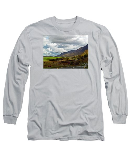 Paradise In Ireland Long Sleeve T-Shirt by Patricia Griffin Brett