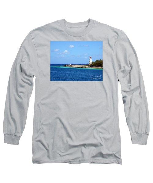 Paradise Island Lighthouse  Long Sleeve T-Shirt