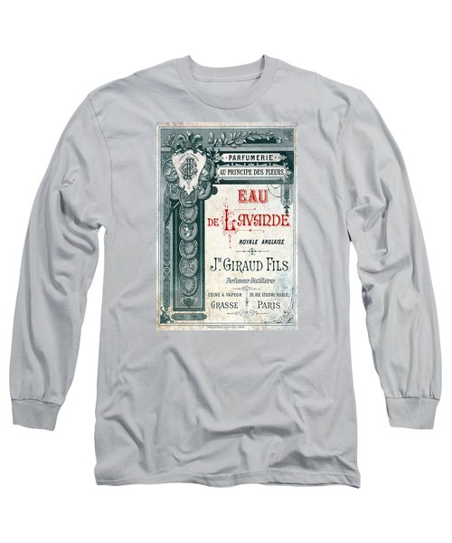Long Sleeve T-Shirt featuring the digital art Parfumerie by Greg Sharpe