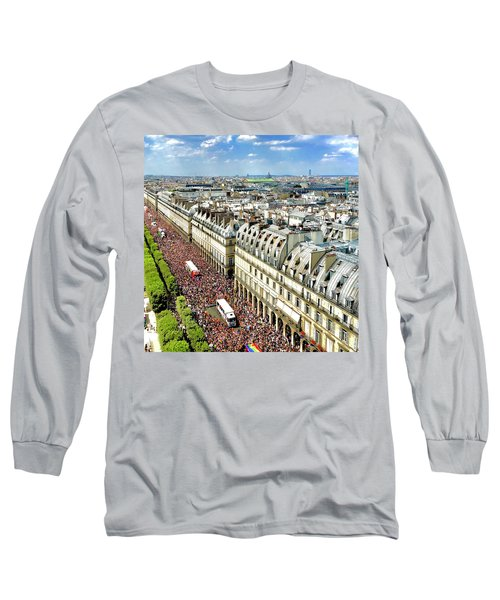 Paris Pride March 2018 Long Sleeve T-Shirt