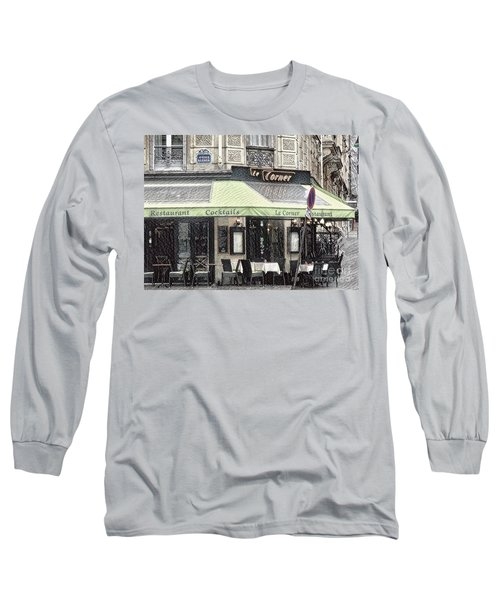 Paris - Restaurant Long Sleeve T-Shirt