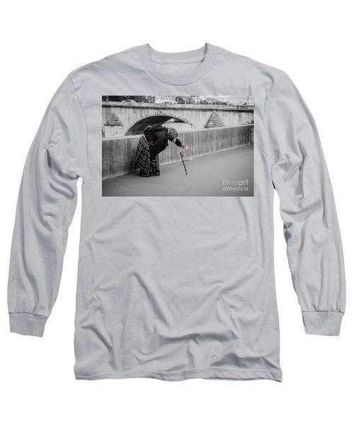 Parisian Beggar Lady Long Sleeve T-Shirt