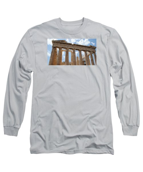 Long Sleeve T-Shirt featuring the photograph Parthenon by Robert Moss