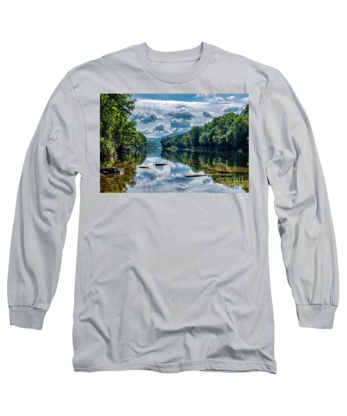 Partially Cloudy Gauley River Long Sleeve T-Shirt