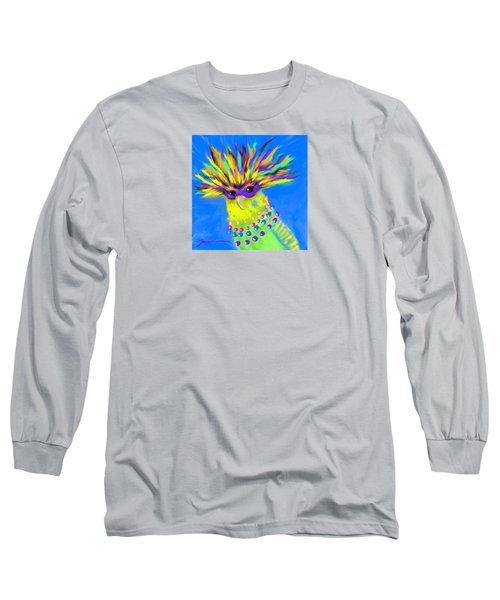 Party Animal Long Sleeve T-Shirt by Jean Pacheco Ravinski