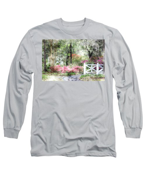Path To The Bridge Long Sleeve T-Shirt by Donna Bentley