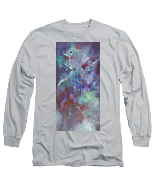 Pathway Of A Prayer Long Sleeve T-Shirt by Karen Kennedy Chatham