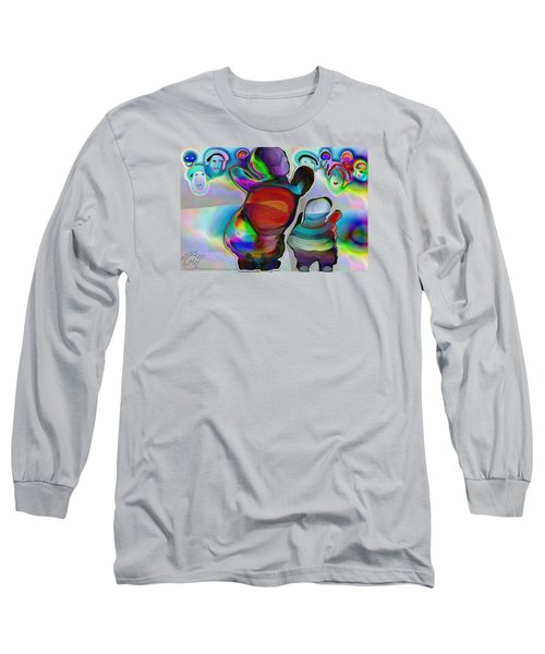 Pattern 270 _ Welcome Long Sleeve T-Shirt