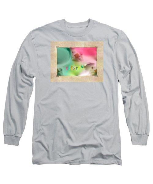 Pattern 310 _ Blessing... Long Sleeve T-Shirt