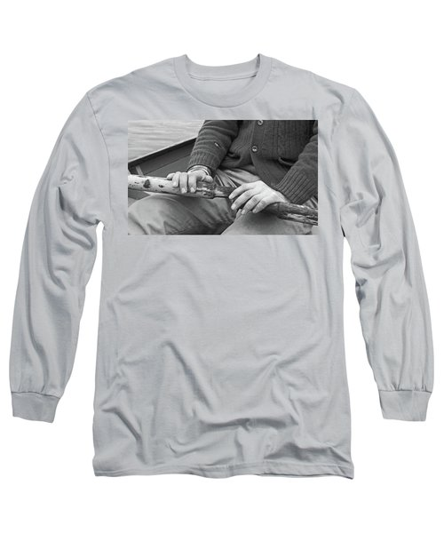Long Sleeve T-Shirt featuring the photograph Paul by Laurie Stewart