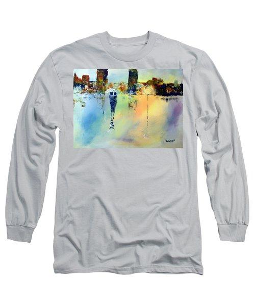 Peace At Twilight Long Sleeve T-Shirt by Raymond Doward