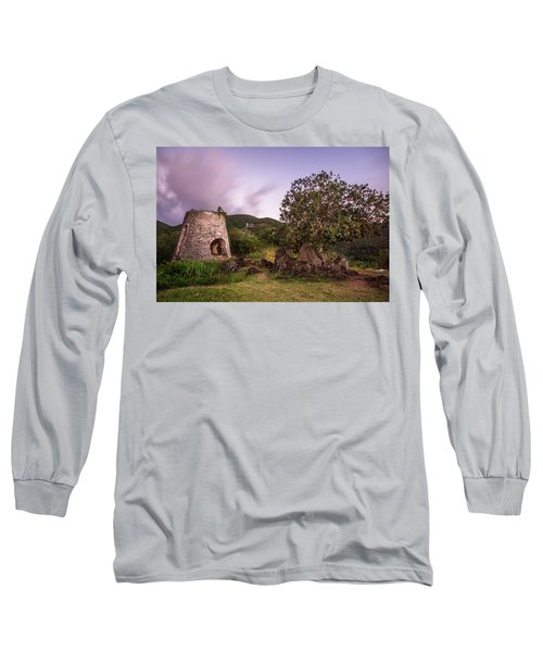 Long Sleeve T-Shirt featuring the photograph Peace Hill Ruins by Adam Romanowicz