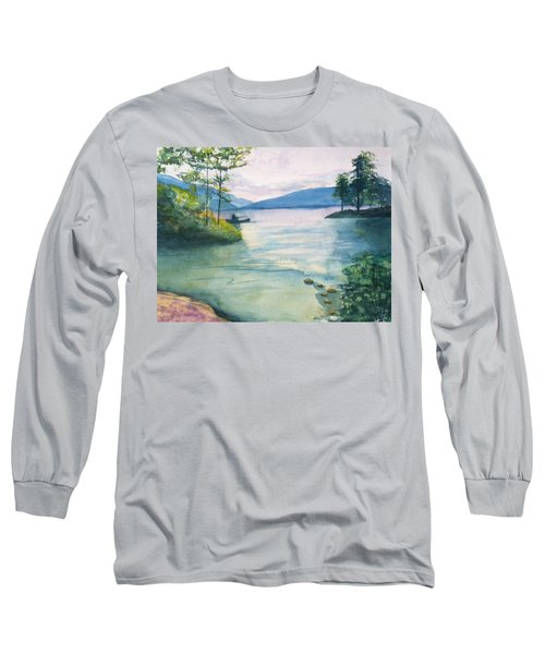 Peace On The Water  Long Sleeve T-Shirt