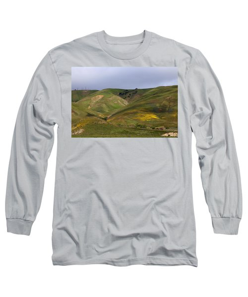 Long Sleeve T-Shirt featuring the photograph Peace Valley by Viktor Savchenko