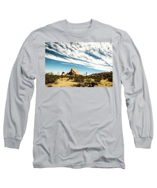 Peaceful Boulder Long Sleeve T-Shirt by Amyn Nasser