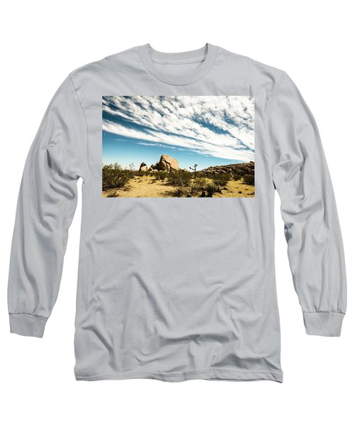 Peaceful Boulder Long Sleeve T-Shirt