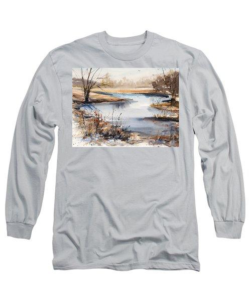 Peaceful Stream Long Sleeve T-Shirt