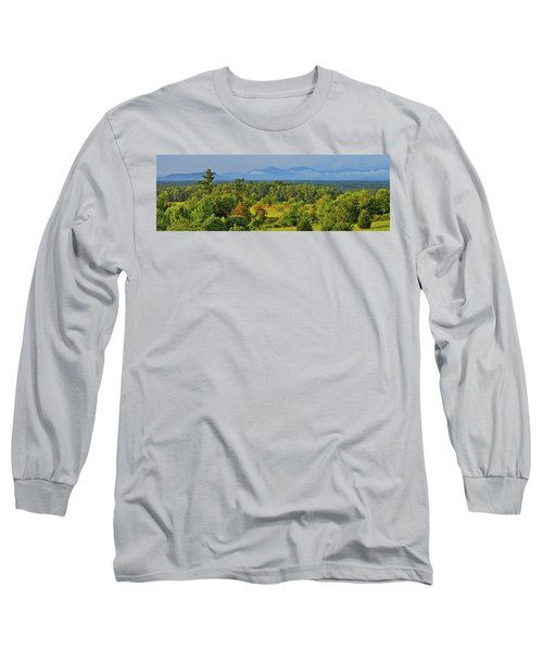 Peaks Of Otter After The Rain Long Sleeve T-Shirt by The American Shutterbug Society