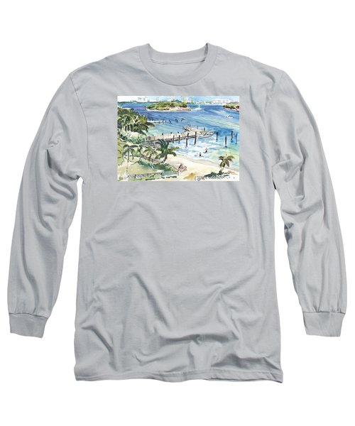 Peanut Island Long Sleeve T-Shirt