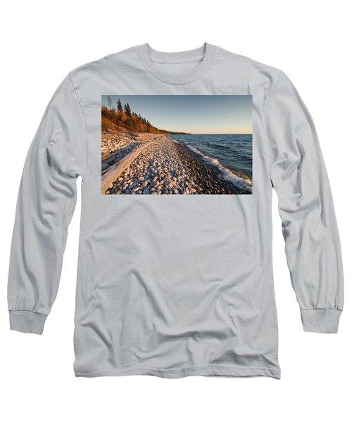 Pebble Beach Autumn    Long Sleeve T-Shirt