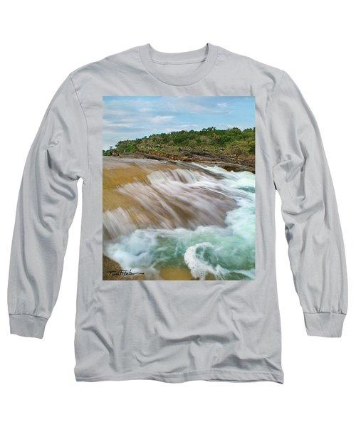 Pedernales Falls Long Sleeve T-Shirt