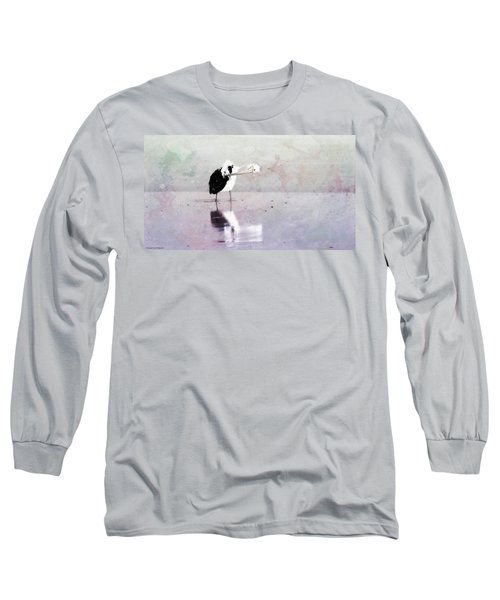 Long Sleeve T-Shirt featuring the photograph Pelican Art 0002 by Kevin Chippindall