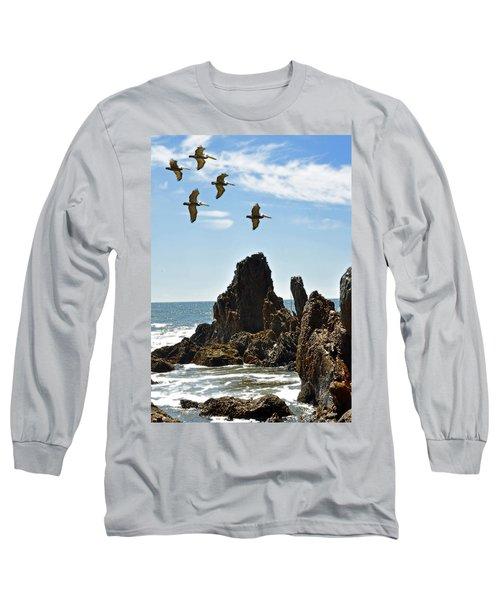 Pelican Inspiration Long Sleeve T-Shirt