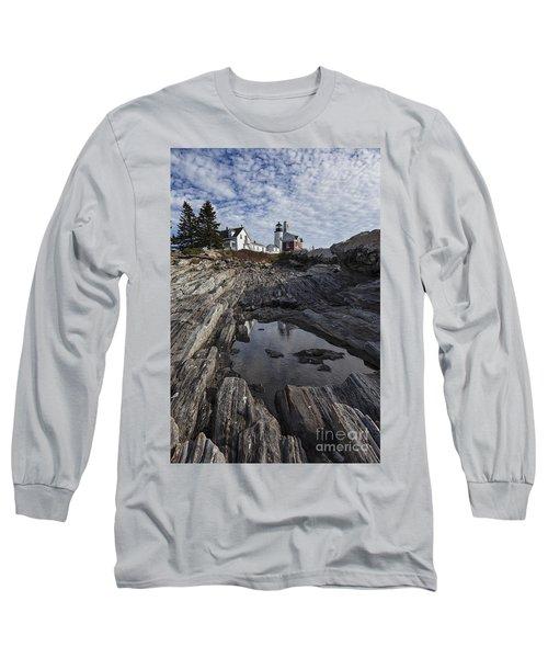 Pemaquid Lighthouse Long Sleeve T-Shirt