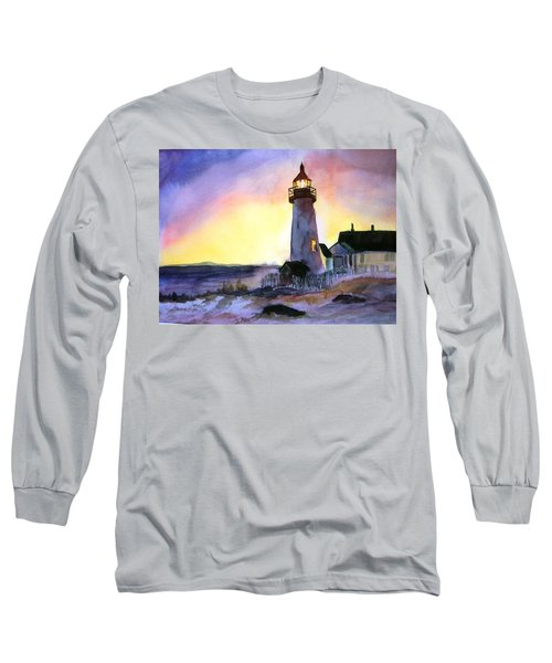 Pemaquid Point Lighthouse Maine Long Sleeve T-Shirt
